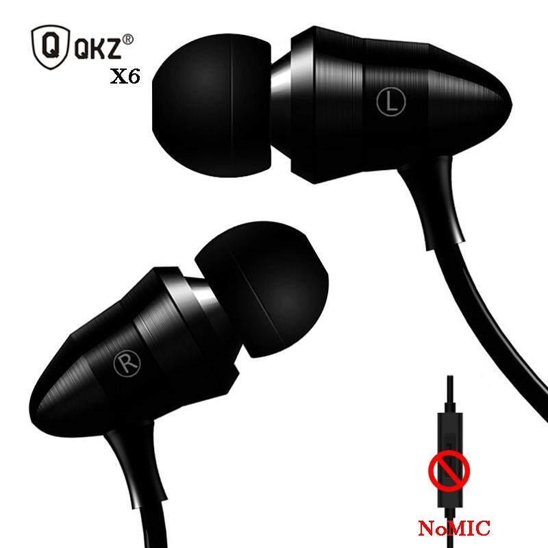 eedfd486712 ... Headphones. QKZ X6 Earphone In-ear auriculares Metal Version fone de  ouvido Professional Sound Quality Heavy