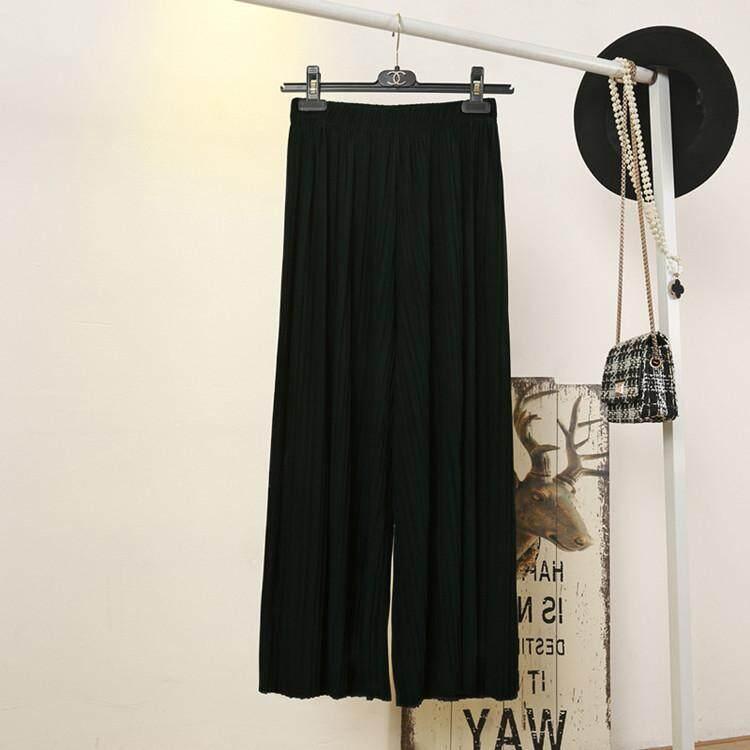 Bolster Store Korean Ladies Women Chiffon Fashion Sheer Long Pants Trousers