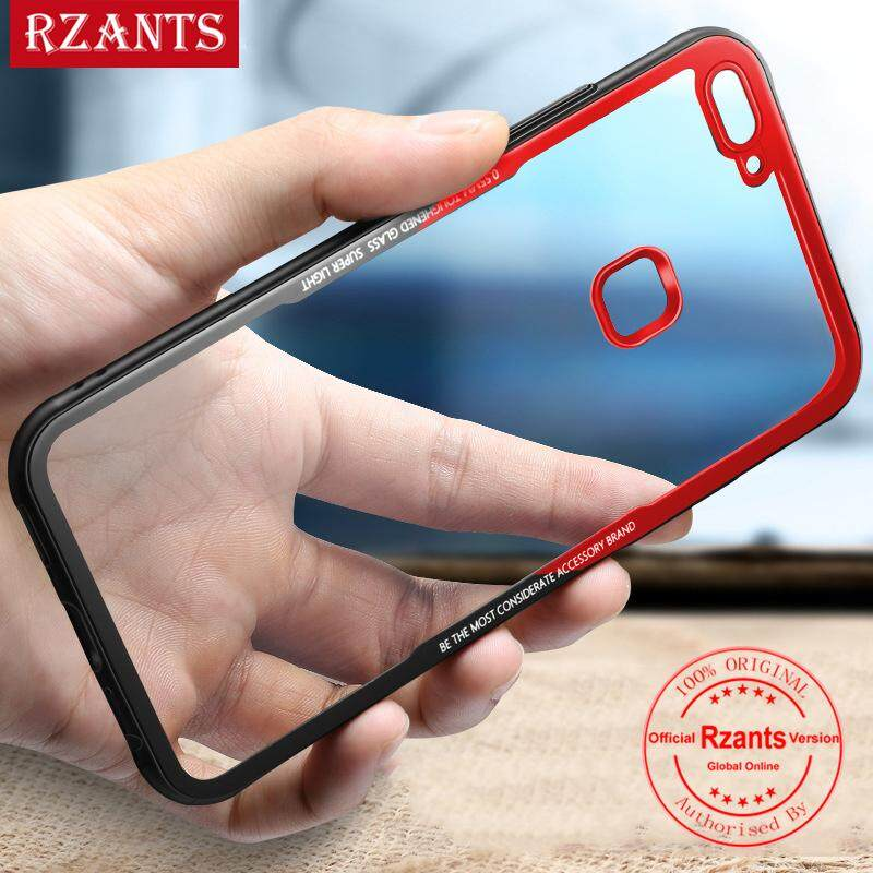 Rzants untuk V7?1.0MM Touch?Hybrid Protective Clear Ultra-thin light Soft