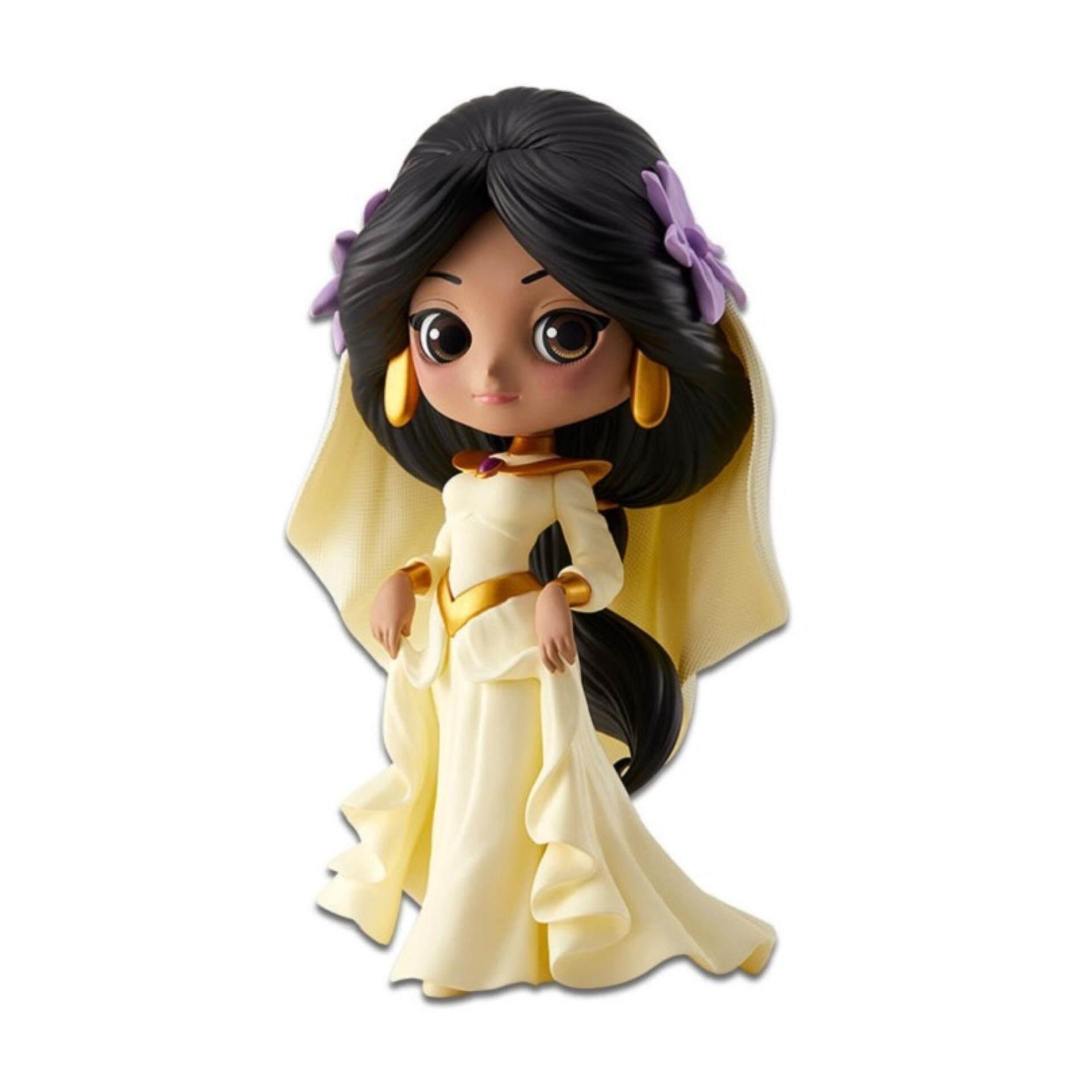 Banpresto Q Posket Disney Princess Figure Pastel Version - Jasmine Dreamy Style Toys for boys