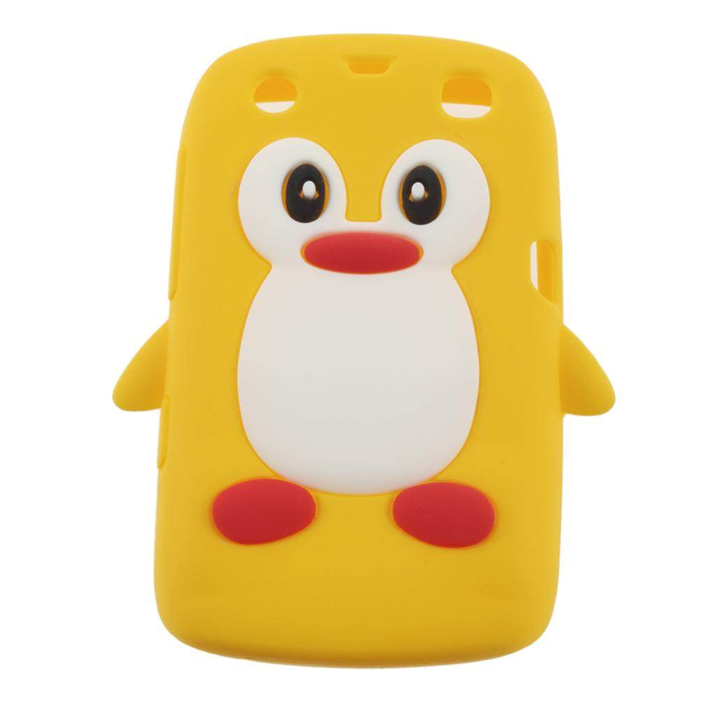 GOOD 3D Penguin Shape Silicone case cover for Blackberry 9360 /9350 /9370/Curve PT162 - intl