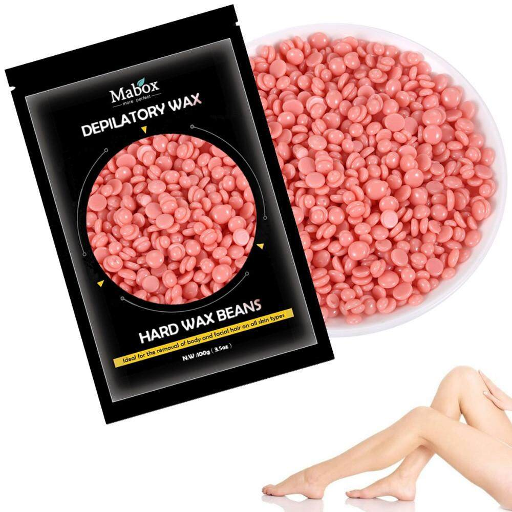 No Strip Depilatory Hot Film Hard Wax Pellet Waxing Bikini Hair Removal Bean - intl