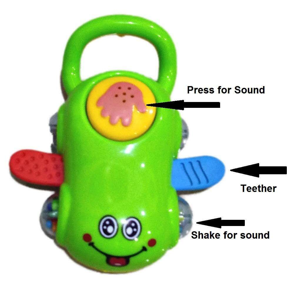 Teether Rattles Set with Sound Baby Toys
