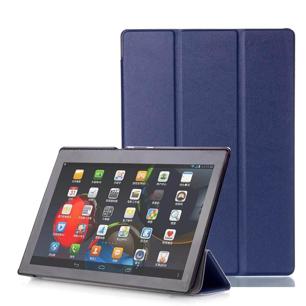 Case Kulit Smart Cover untuk Lenovo Tab3 10 Bisnis (TB3-X70F/N/