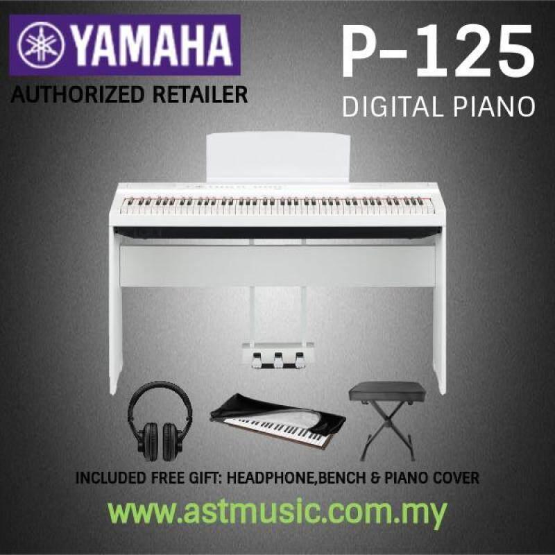 Yamaha P-125 88-Keys Digital Piano Saver Package (P125 / P 125) Malaysia