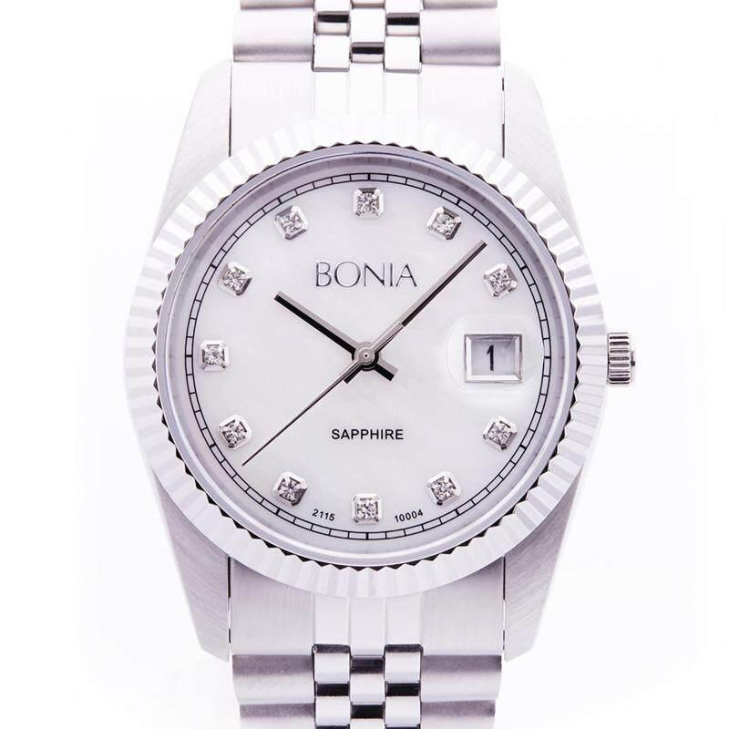 Bonia Bright Silver Classic Watch 36mm Malaysia