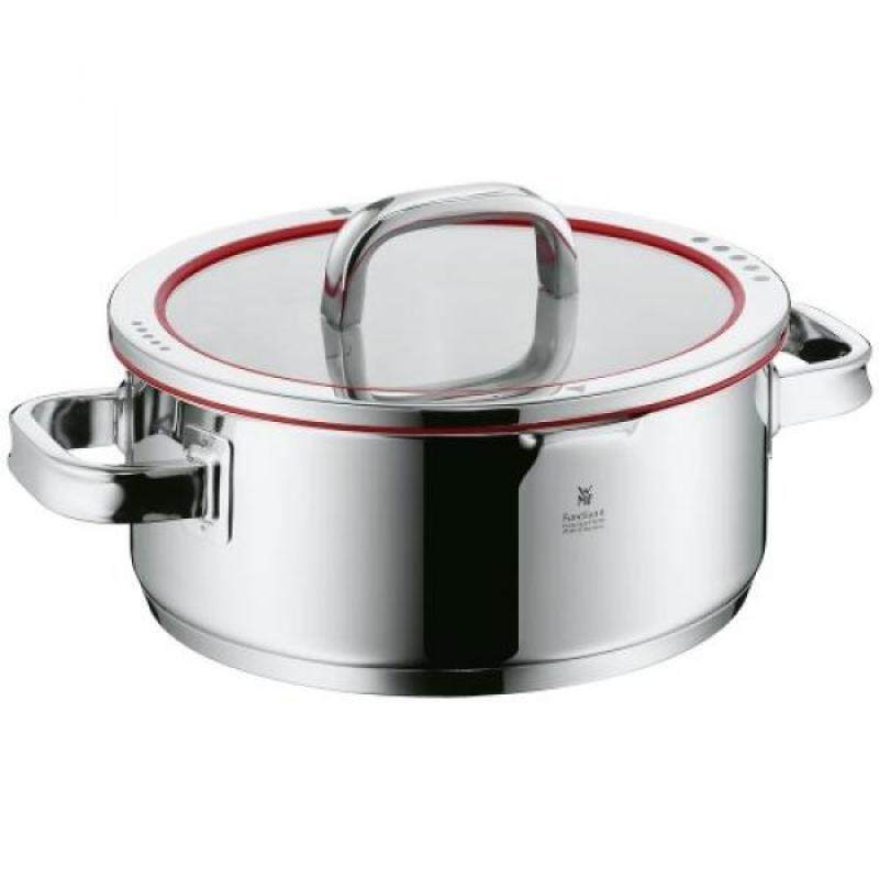 WMF Function 4 Low Casserole with Lid, 4-Quart - intl Singapore