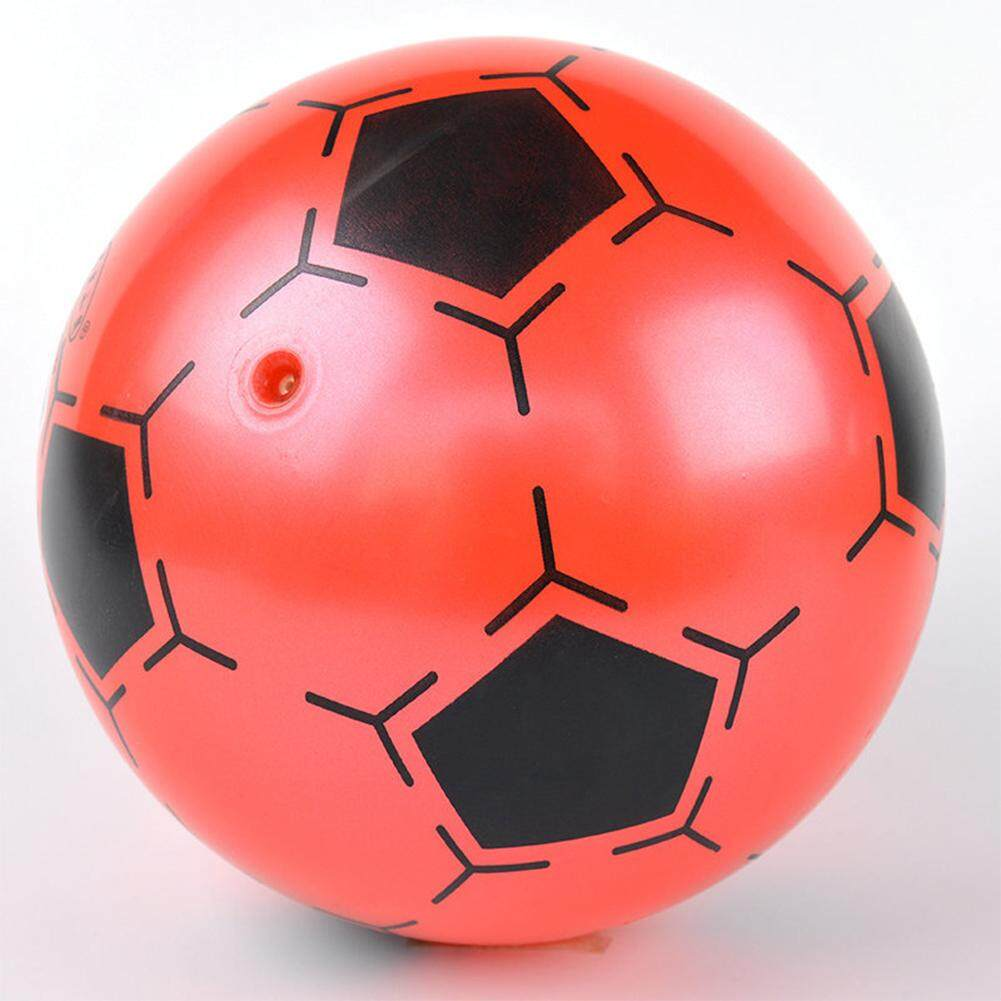 Redcolourful 9 Inch Children Inflatable Pvc Soccer Ball Toy Football Shape Bouncing Ball Gift For Kids Random Color - Intl By Redcolourful.