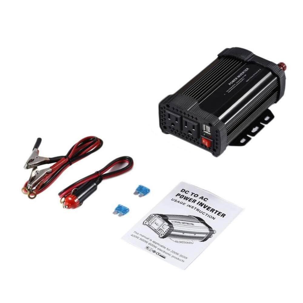 Bsex Tepat P500C 12 V Sampai 110 V Mobil Daya Inverter dengan Kebisingan Rendah Kipas Pendingin-Internasional