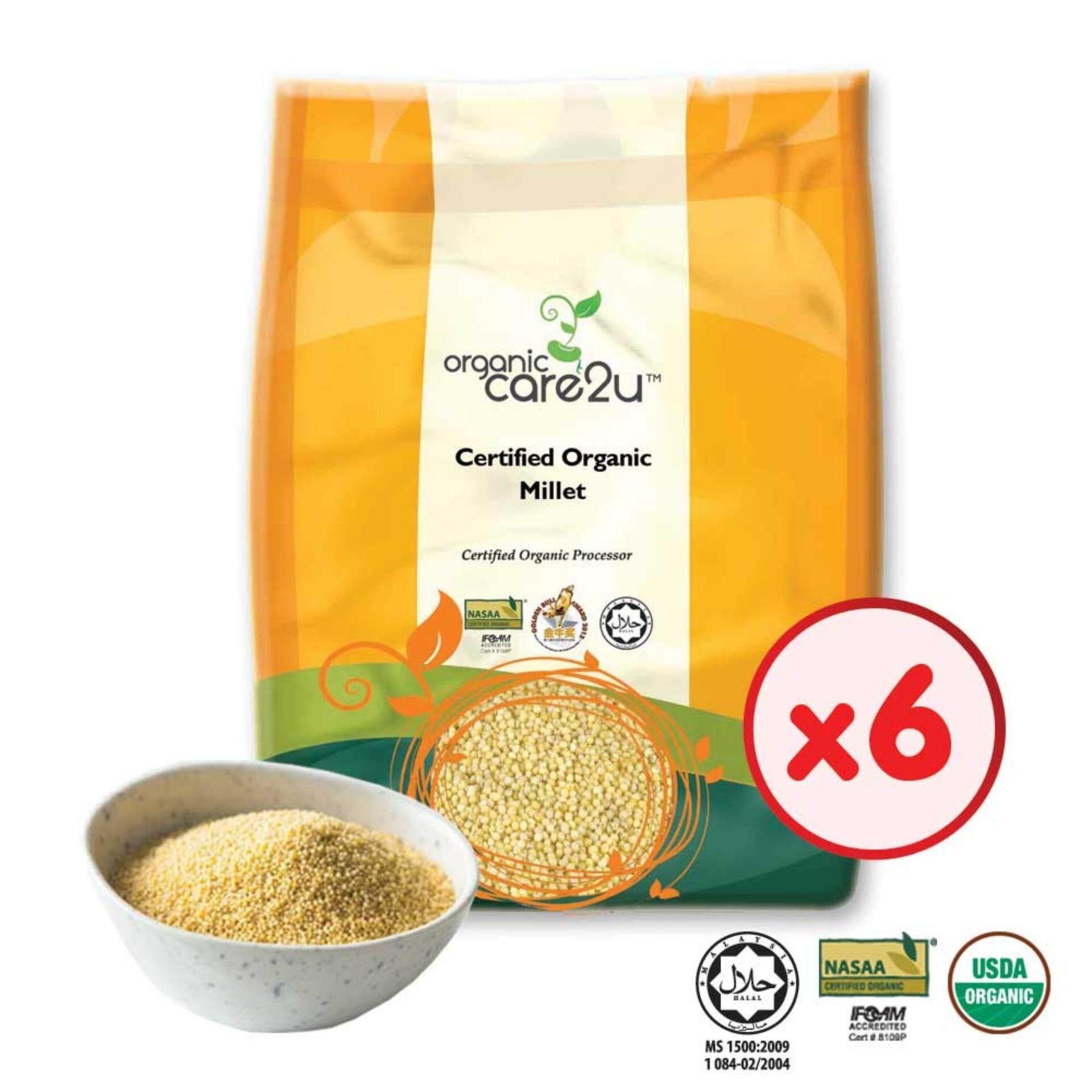 Organic Care2u Organic Millet  (400g) - [Bundle of 6]