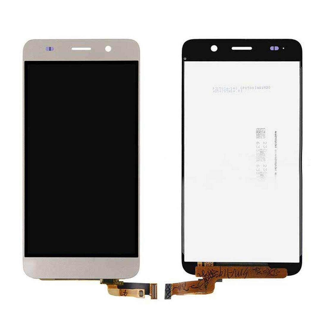 iPartsBuy for Huawei Honor 4A / Y6 LCD Screen + Touch Screen Digitizer Assembly(Gold) - intl