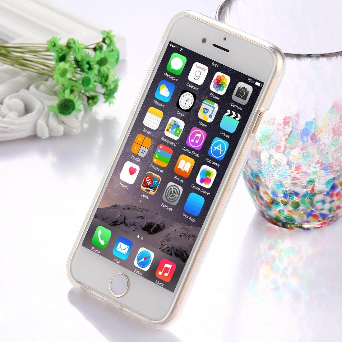 Features Mercury Goospery Jelly Case For Iphone 6 Plus And 6s Pearl Black Tpu Glitter Powder Drop