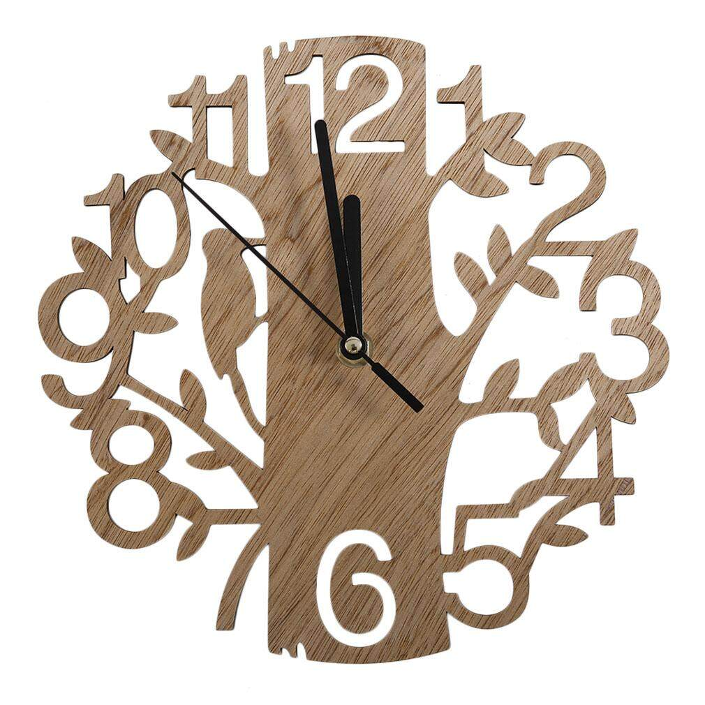 Befu Vintage Design Wall Clock Fashion Style Home Living Room Clock Square Shape Intl Unbranded Generic ถูก ใน จีน