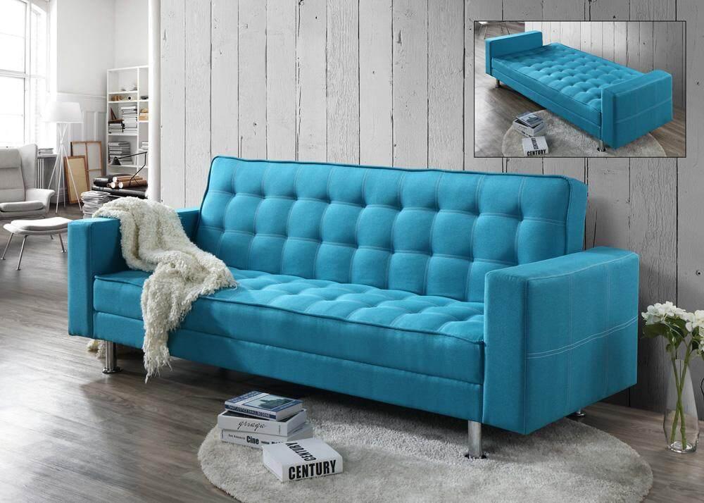 Gf tiffany blue sofa bed lazada malaysia for Sofa bed malaysia