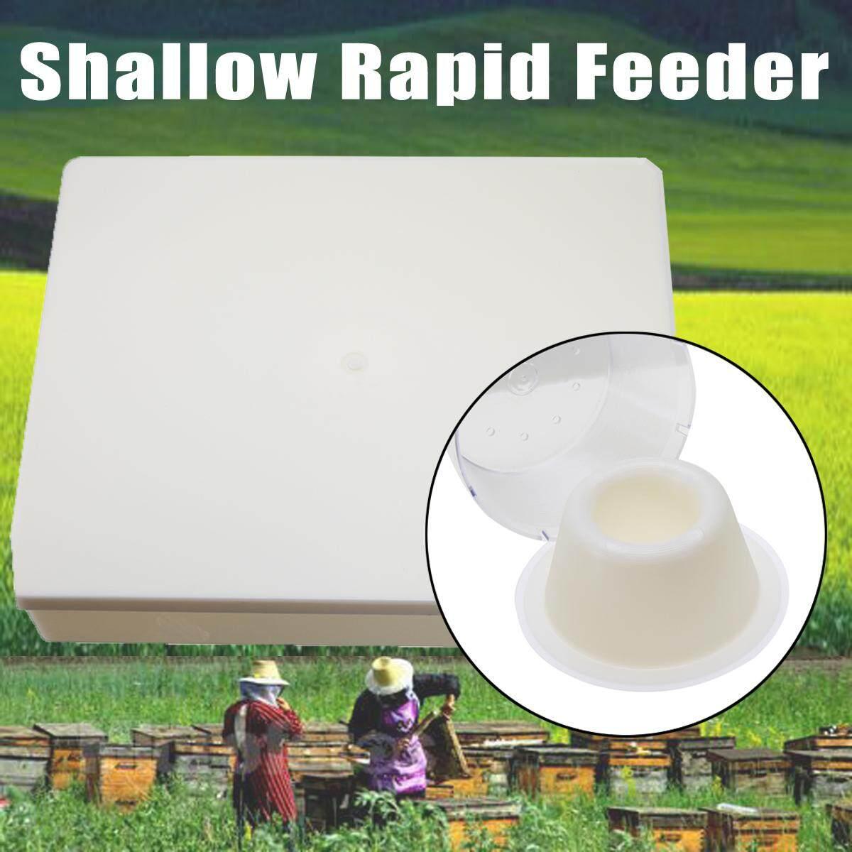 Hình ảnh 4 Litres 1 Gallon(8 pints) Shallow Rapid Feeder For Bees Feeding Transparent Cup - intl