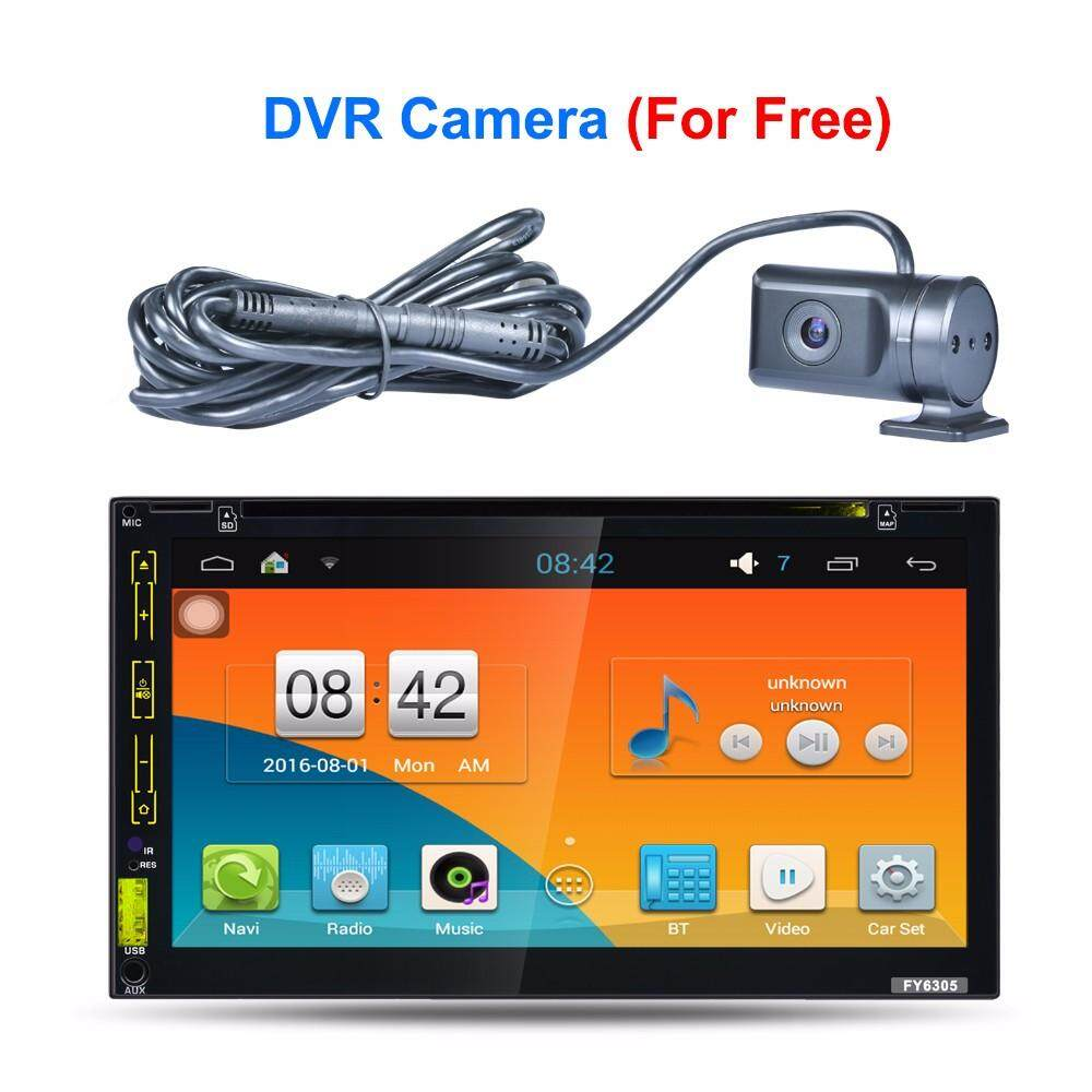 Mobil 2 DIN Stereo Di Dasbor Dek Android 5.1.1 Car DVD PC Player Gps Navigasi-Intl