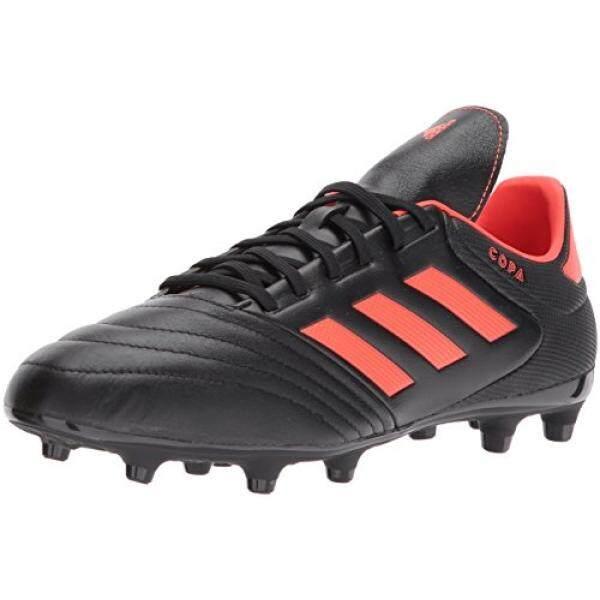 Adidas Performa Pria COPA 17.3 FG Sepatu Sepak Bola, Hitam/Tenaga Surya Merah/Tenaga Surya Merah, medium Kami-Internasional