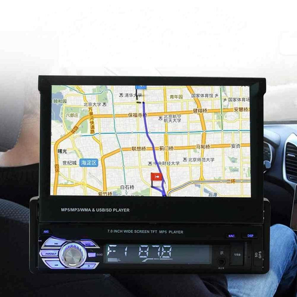 Smart Real Human Voice Indication Car GPS Navigation MP5