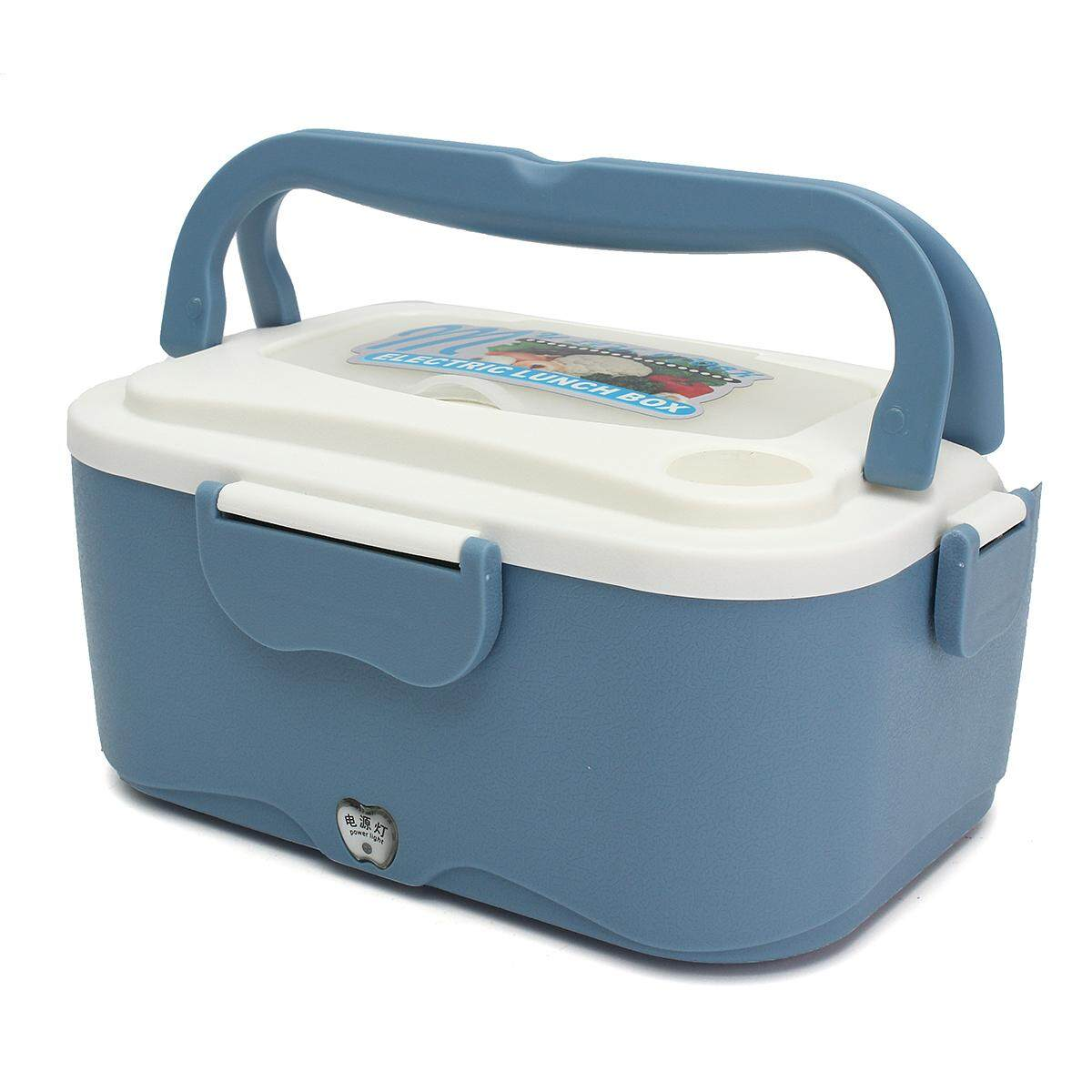Portable Car Electric Heating Lunch Box Food Warm Heater Storage Container Vans By Moonbeam.
