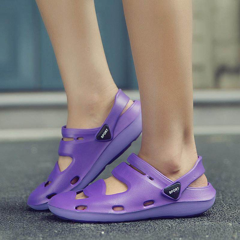 GTRMAT Women's Jelly Sandals Ladies Sandals Casual Breathable Shoes Comfortable Sandals Sandal Jelly .