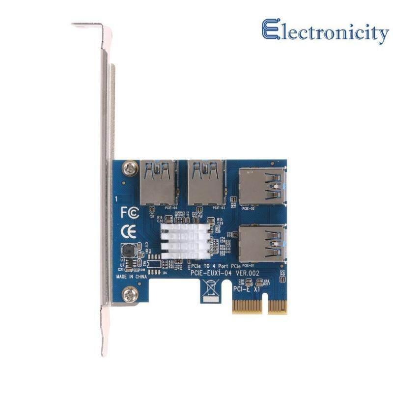 Bảng giá 4 khe cắm PCI - E 1 Đến 4 PCI Express 16X Khe Cắm Ngoài Adapter Card - quốc tế Phong Vũ