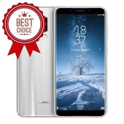 HOMTOM S8 4G SMARTPHONE (SILVER)