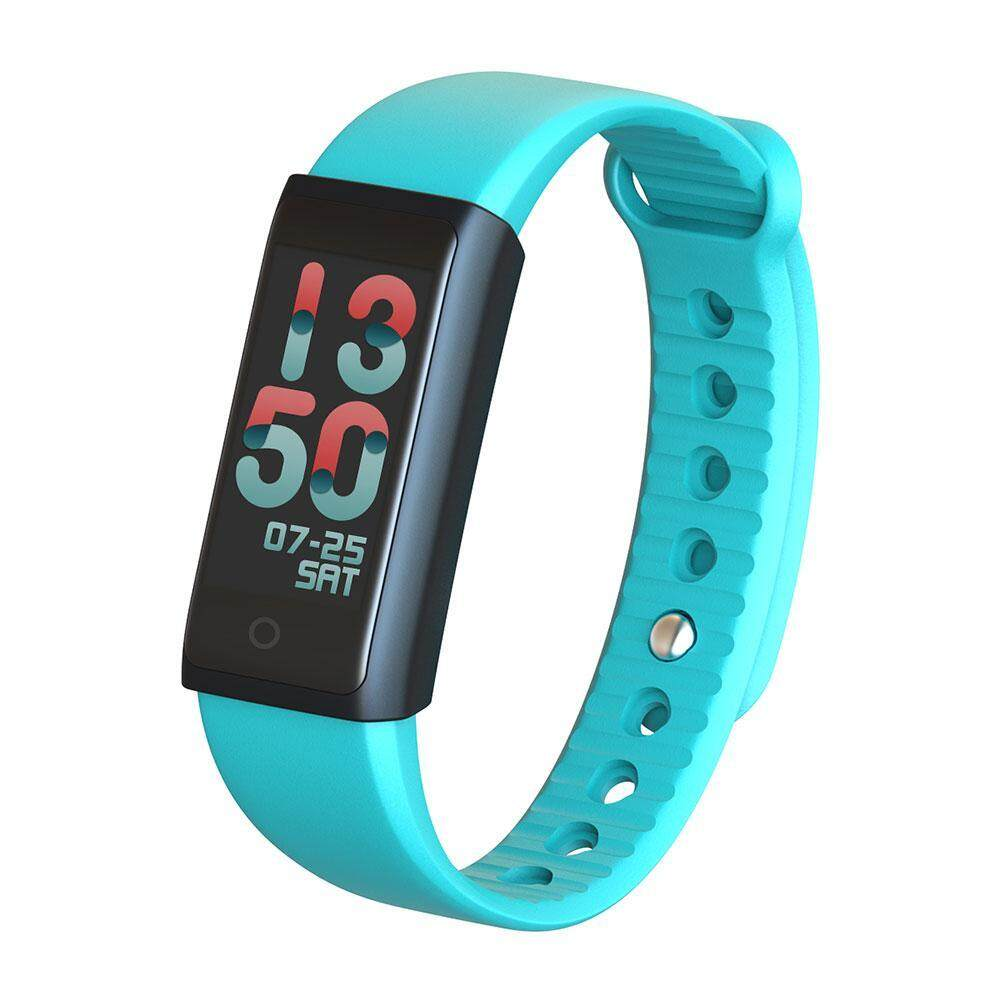 jiechuan Waterproof Colorful OLED Touch Screen Waistwatch Smart Bluetooth Bracelet for Android IOS Smartphone - intl