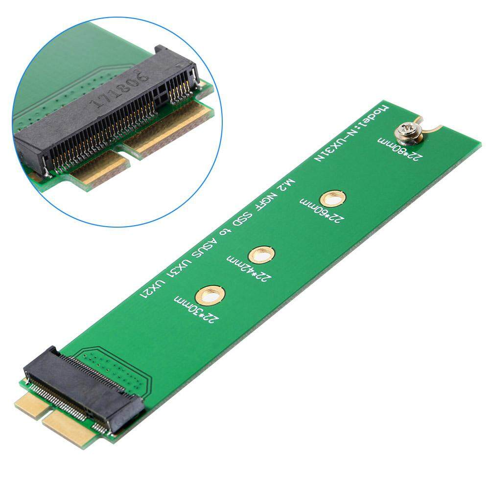 Hình ảnh YBC M.2 NGFF SSD to 18 Pin Adapter Card SSD for Asus UX31 UX21 Zenbook Laptop