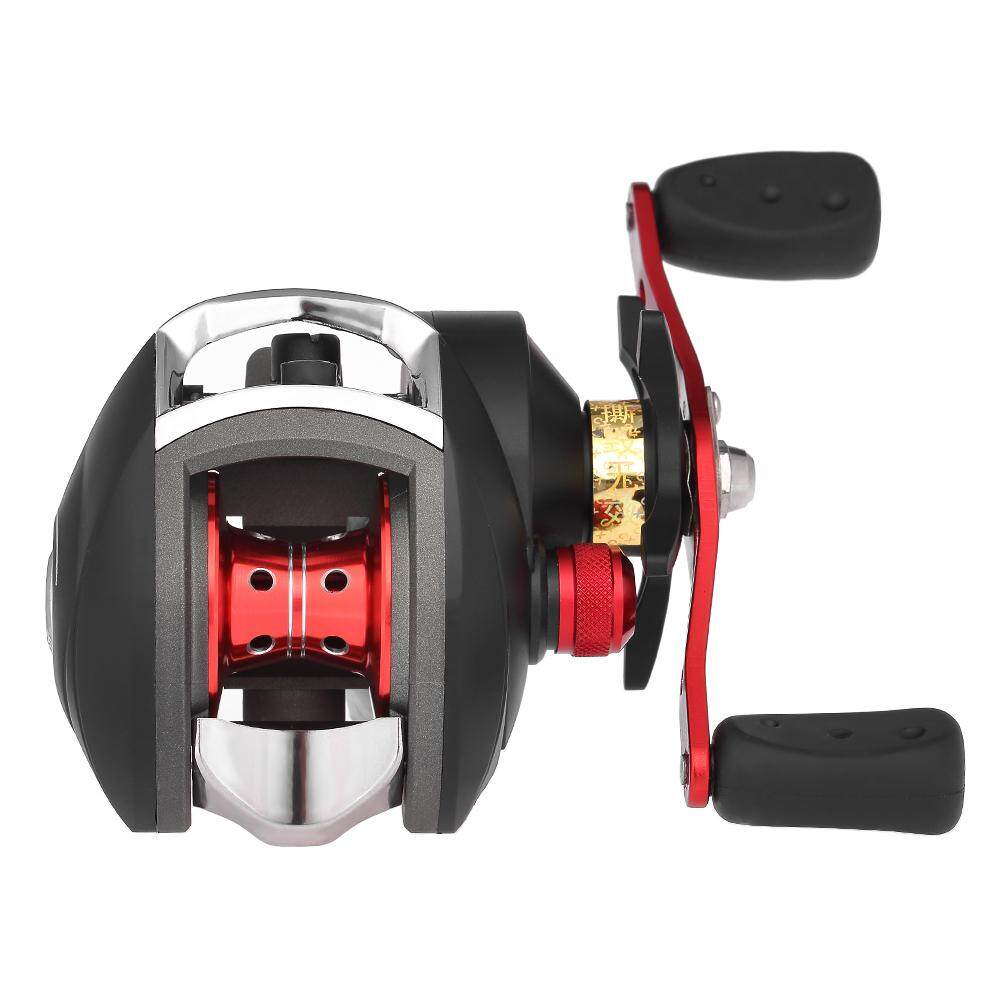 12+1 BB Ball Bearing 8.1:1 Bait Casting Fishing Reel One-way Clutch Baitcasting Reel Left/Right Hand Fishing Reel Magnetic Brake Lure Fishing Reel - intl