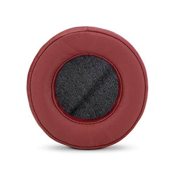 ALH Brainwavz ROUND Replacement Memory Foam Earpads - Suitable For Many Other Large Over The Ear Headphones - Sennheiser, AKG, HifiMan, ATH, Philips, Fostex, Sony (Dark Red) - intl