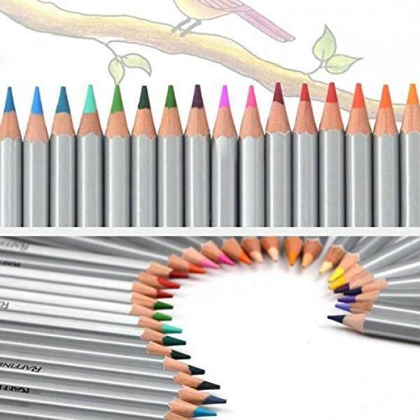 Hktandl Marco 36 Pensil Warna/Warna Profesional Seni Menggambar Pensil untuk Gambar Sketsa Artis Dasar