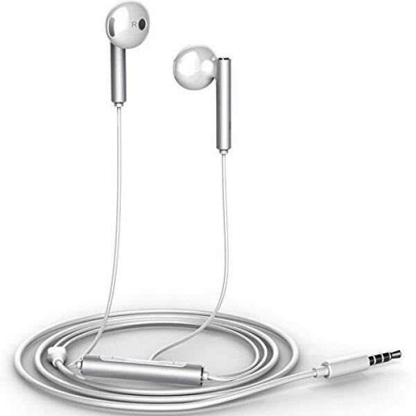 TIYA Earbuds Earphones Headphones AM116 for Huawei P8 P9 P10 Pro Plus Mate7 Mate 8 9 Mate 10 Pro Nova 2 Plus honor 6 7 8 9 6X 7X 3c 4X 4C 5X 6s lite MediaPad T3 T2 T1 M3 MateBook X D E white(AM116)