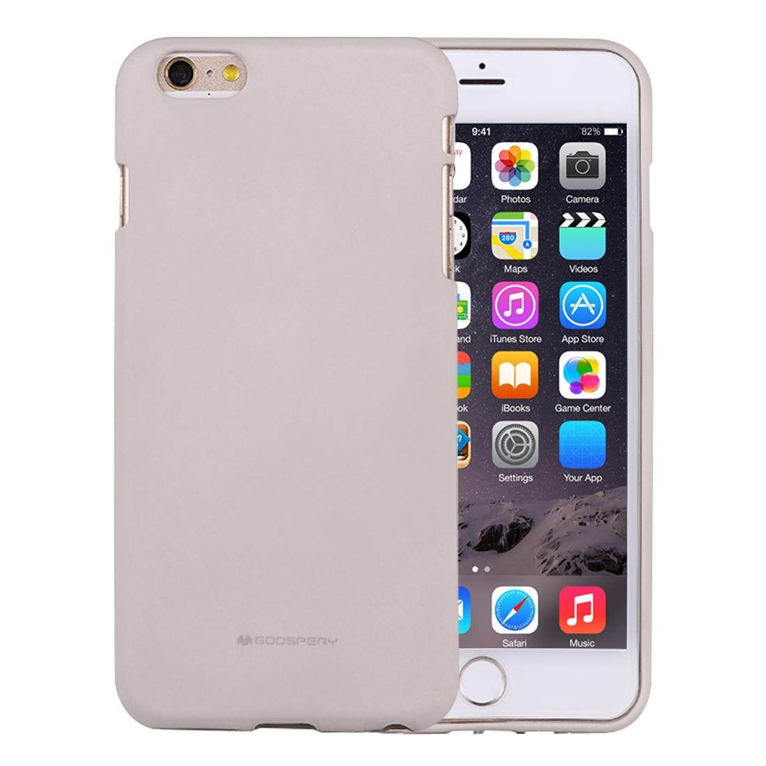 Features Mercury Goospery Jelly Case For Iphone 6 Plus And 6s 8 Pearl Mint Soft Feeling Liquid State Tpu Drop Proof