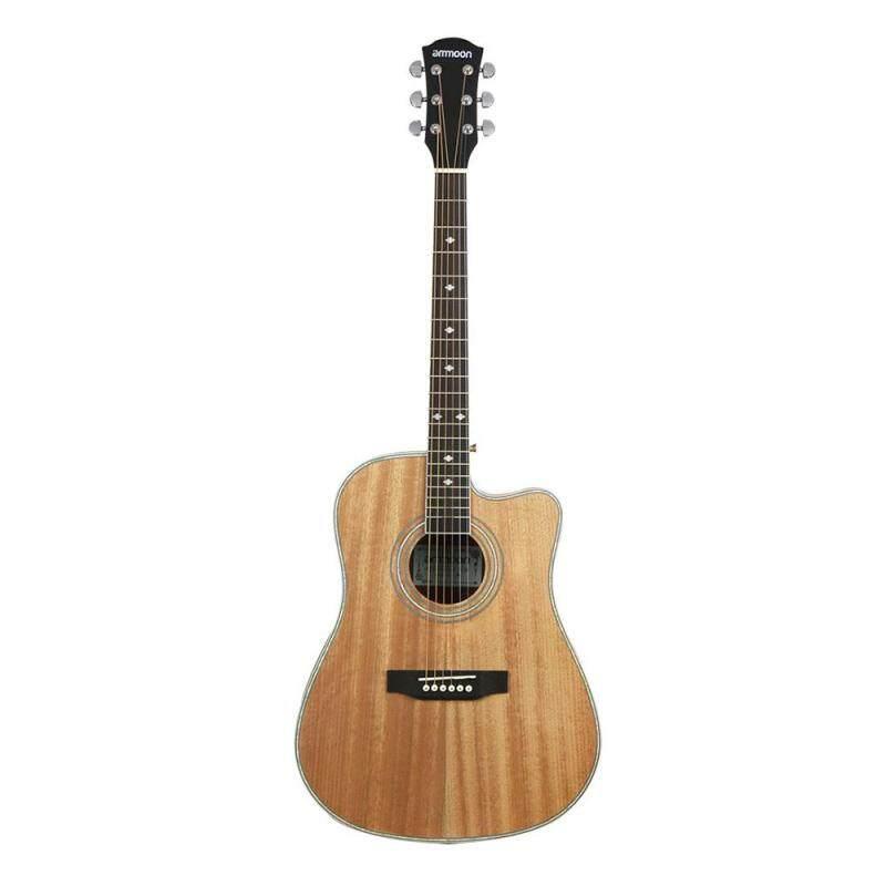 41 Cutaway Acoustic Folk Guitar Sapele Body Rosewood Fingerboard Malaysia