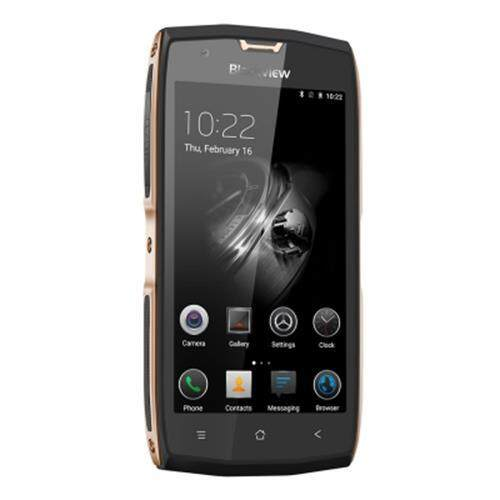 BLACKVIEW BV7000 PRO 4G SMARTPHONE 5.0 INCH ANDROID 6.0 MTK6750 1.5GHZ OCTA CORE 4GB RAM 64GB ROM IP68 WATERPROOF 8.0MP + 13.0MP CAMERAS FINGERPRINT SCANNER (CHAMPAGNE)