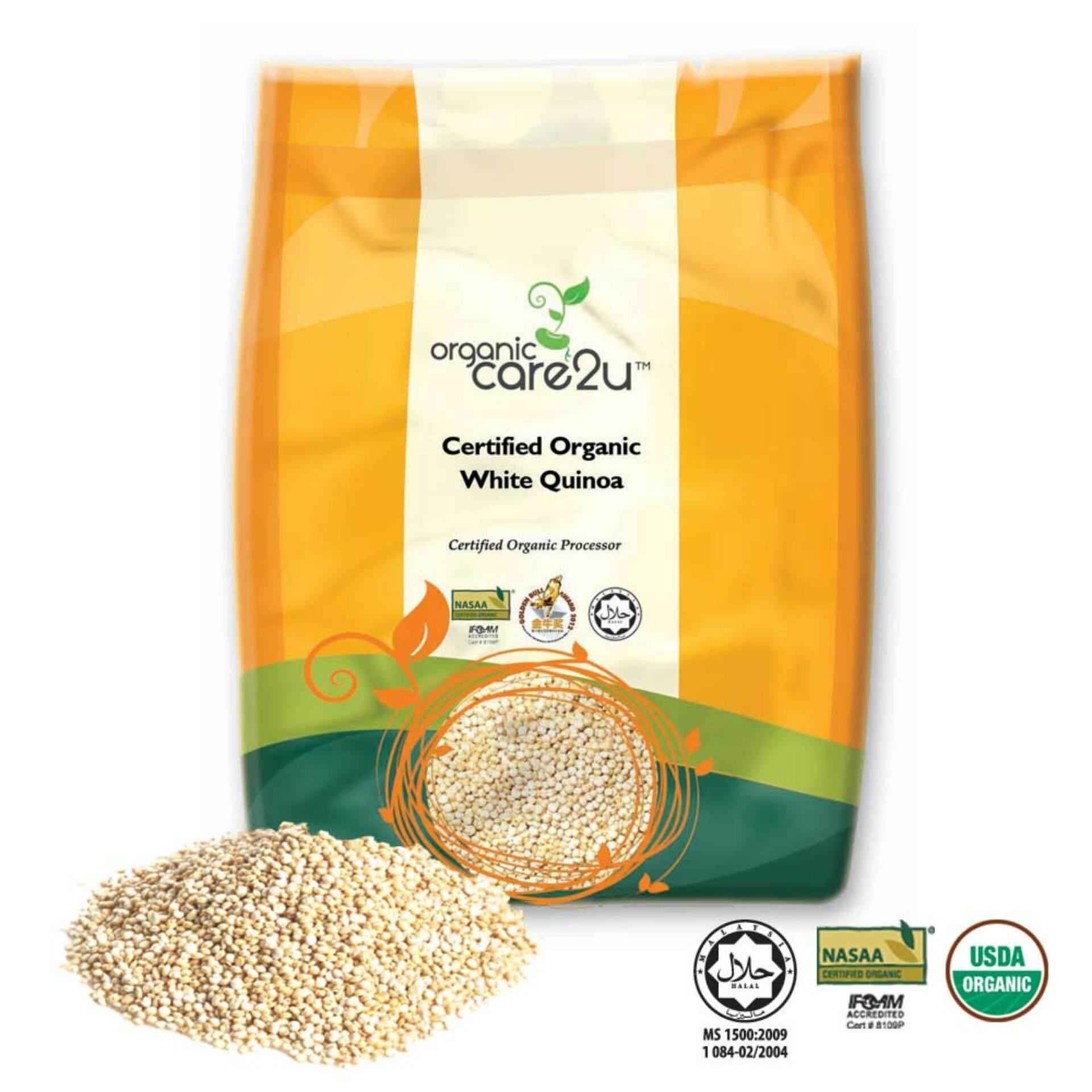 Organic Care2u Organic White Quinoa (400g)