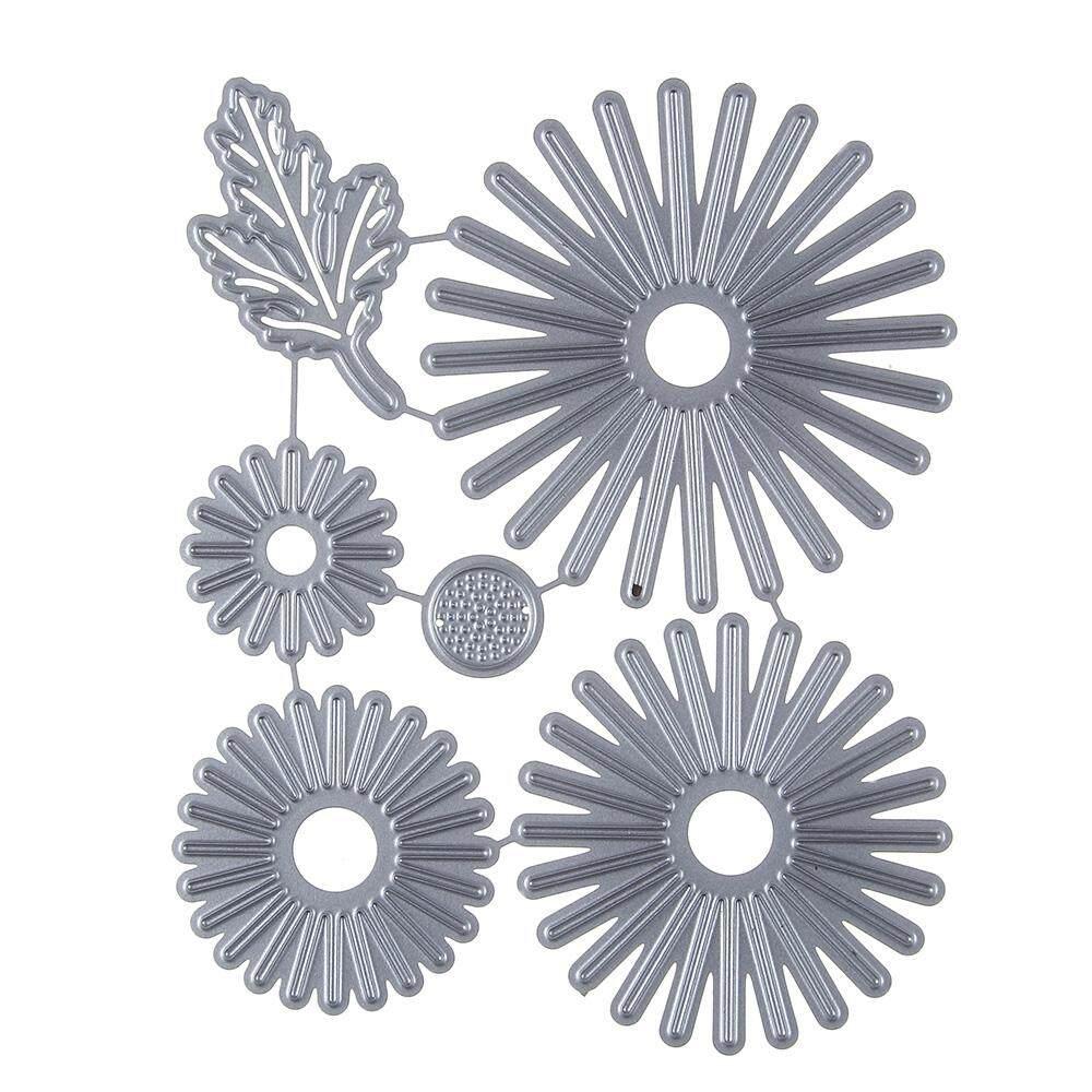 Flowers Leaves Pattern Embossing Cutting Dies For DIY Scrapbook Album Paper Card Making