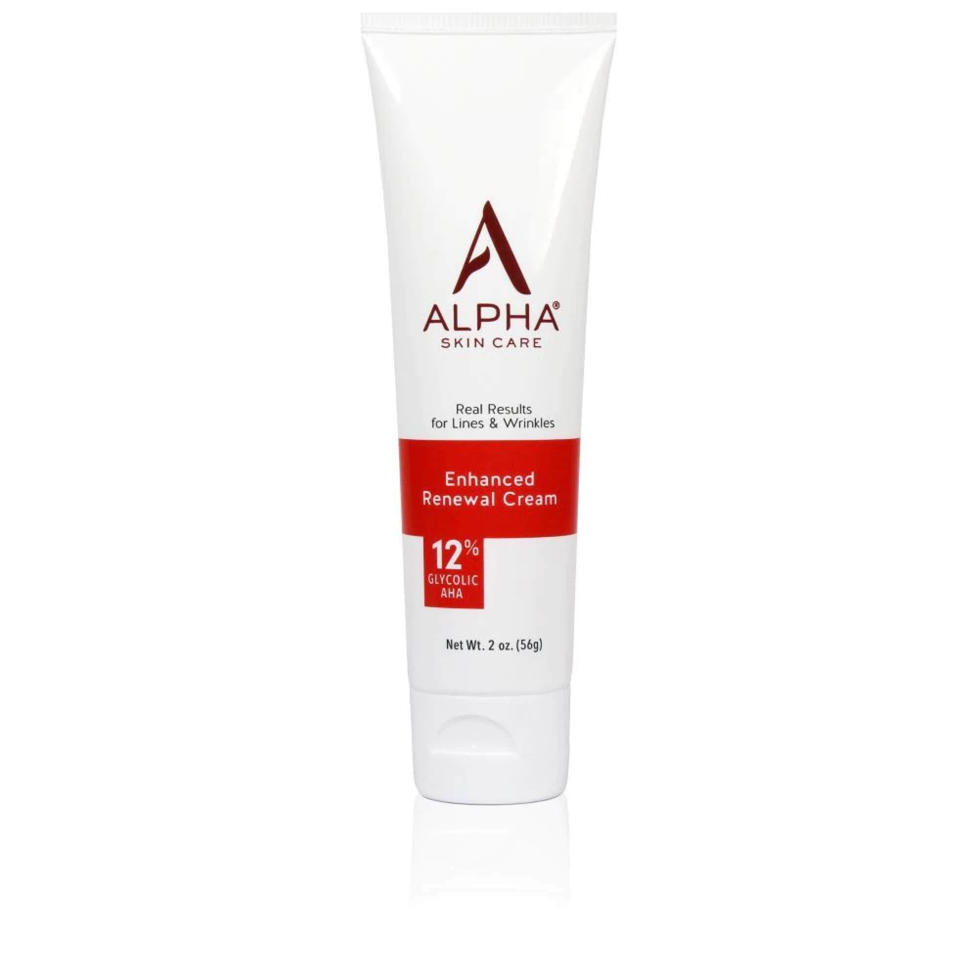 Alpha Skin Care Enhanced Renewal Cream with 12% AHA