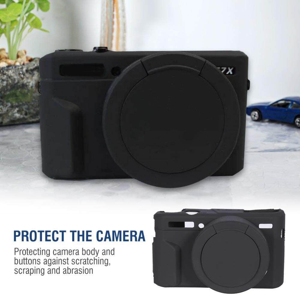 Lightweight Soft Silicone Camera Case Cage Protector Cover for Canon G7XII /G7X Mark II