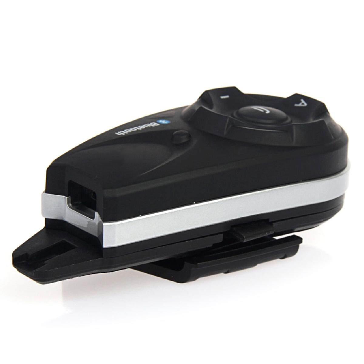 Detail Gambar Vnetphone V5-EU 1200 M Helm Bluetooth Sepeda Motor Headset Interkom untuk-Intl Terbaru