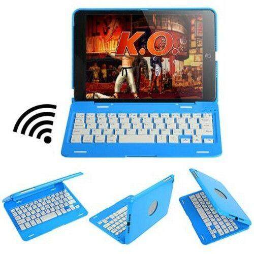 All in One Wireless Bluetooth Keyboard + Protective Case + Display Stand for 7.9 inch iPad Mini
