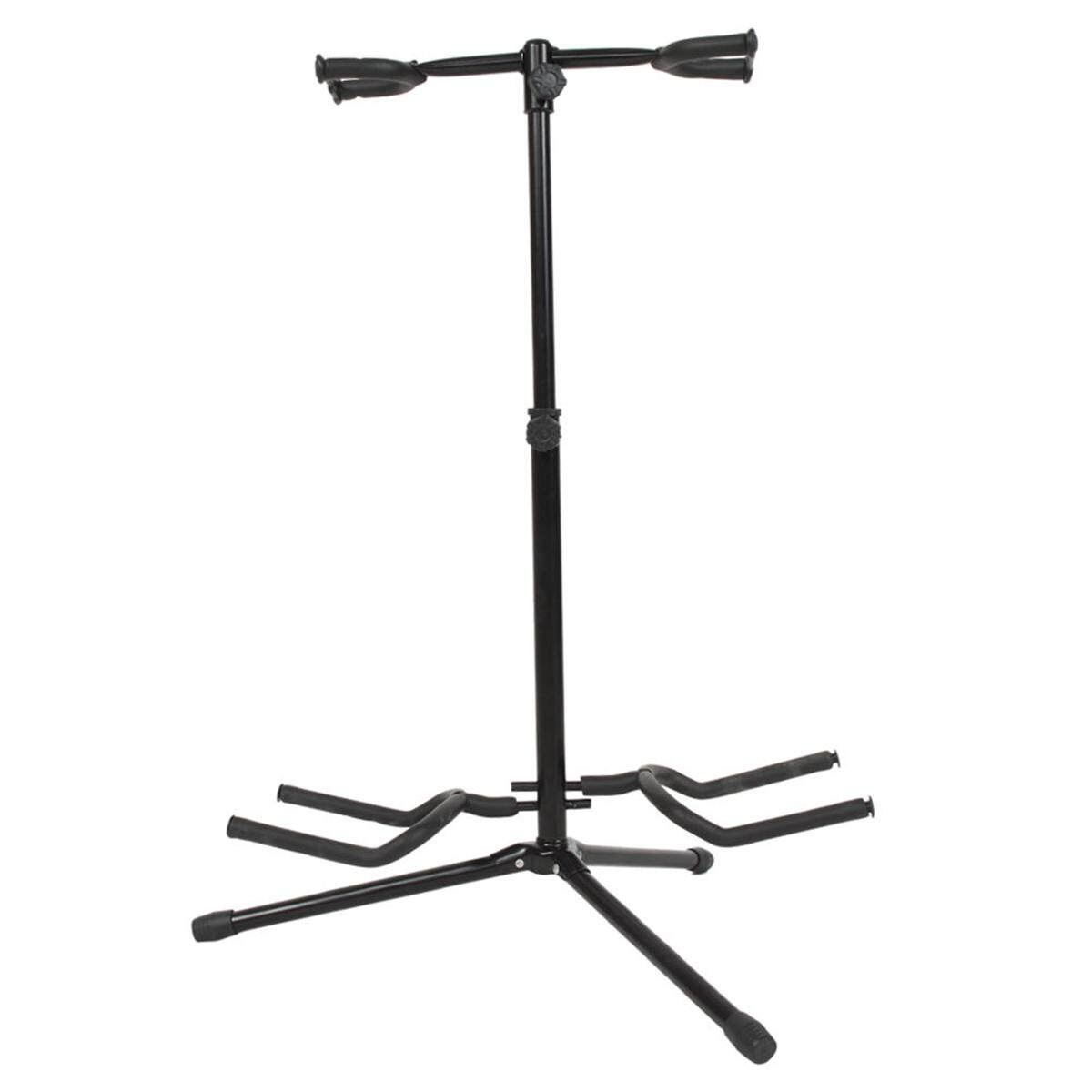 67Cm Musician Double Acoustic Electric Guitar Bass Stand Dual Bracket Straight Intl For Sale