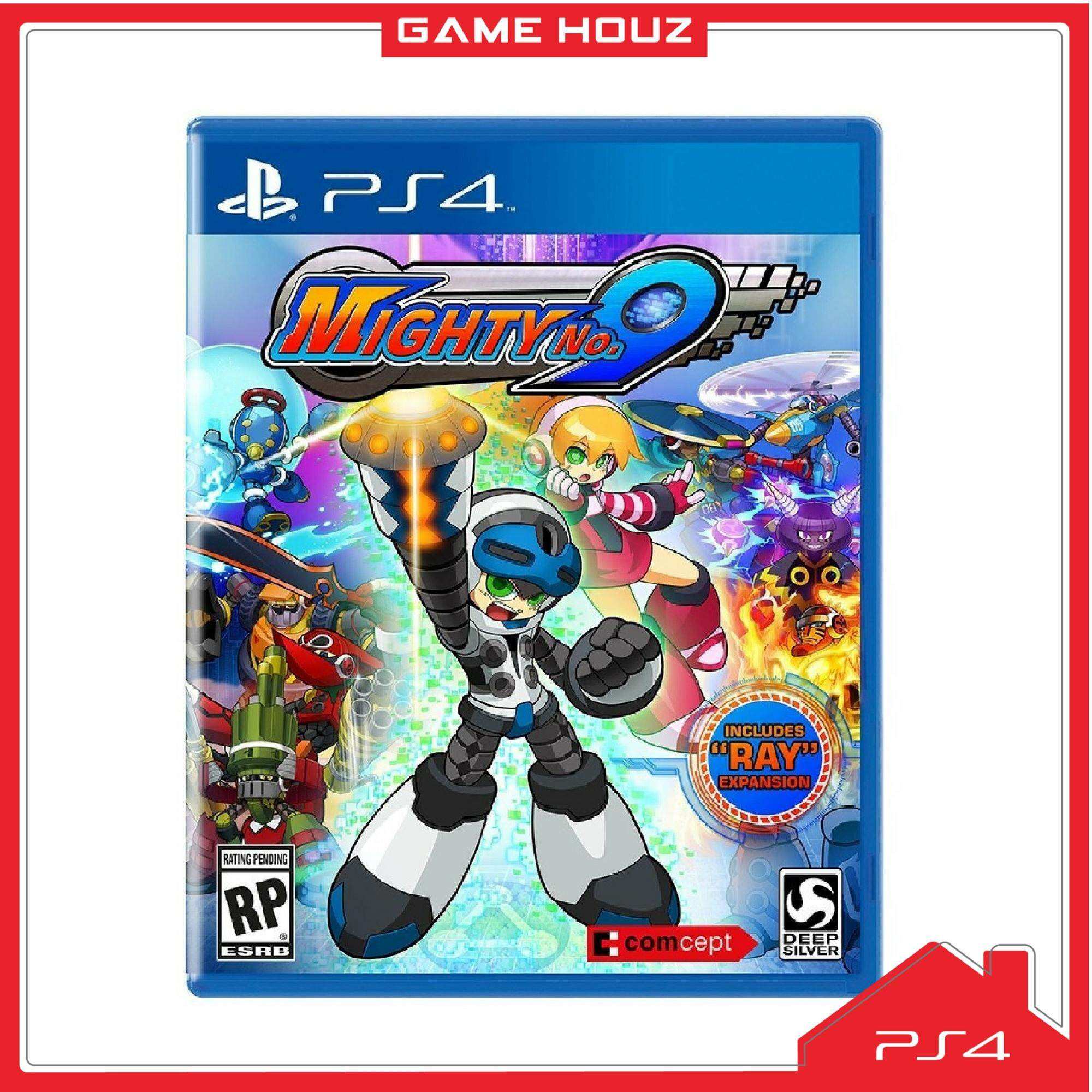 (PS4) Mighty No. 9 (R3/ENG)