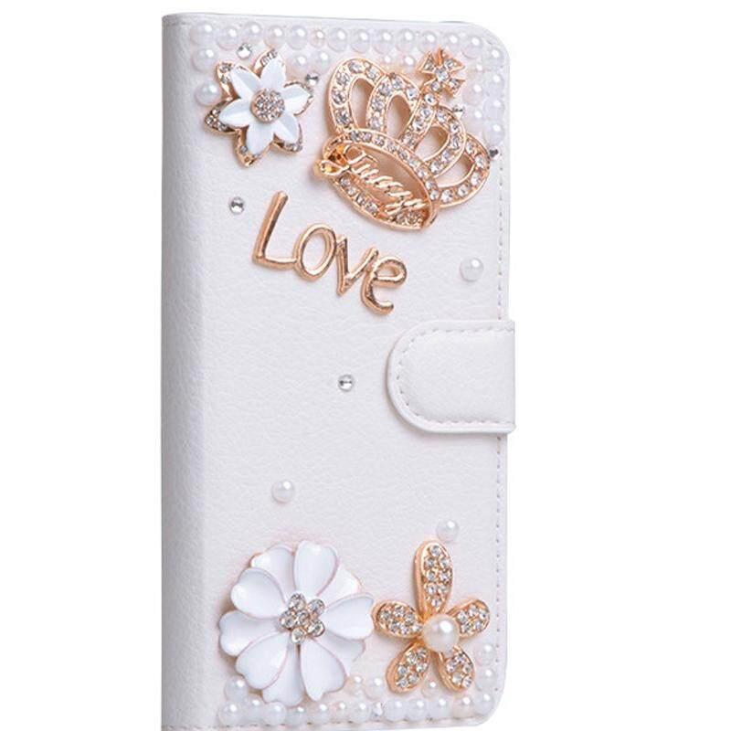 Luxury Wallet Case For Asus Zenfone 5 Ze620Kl Pu Leather Flip Cover Magnetic Fashion Diamond Cases For Asus Zenfone 5Z Zs620Kl Zenfone 5 Ze620Kl Intl Review