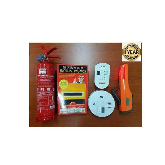 HOME FIRE SAFETY PREMIUM SET