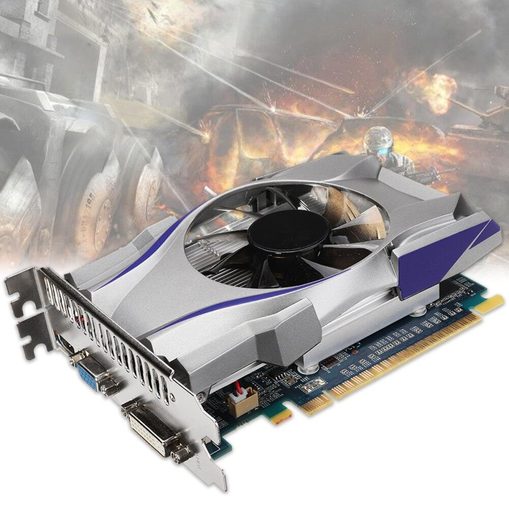 For NVIDIA GeForce 4GB GT730 GDDR5 128Bit Express Game Video Card Graphics New - intl