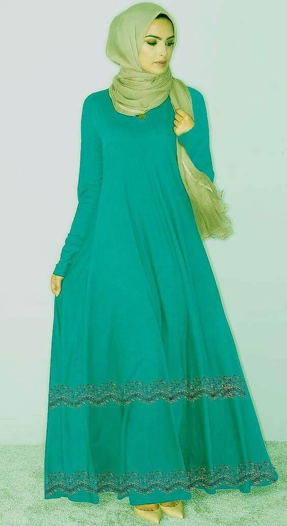 Latest fashion muslimah jubah fashion - Diana Fardoos