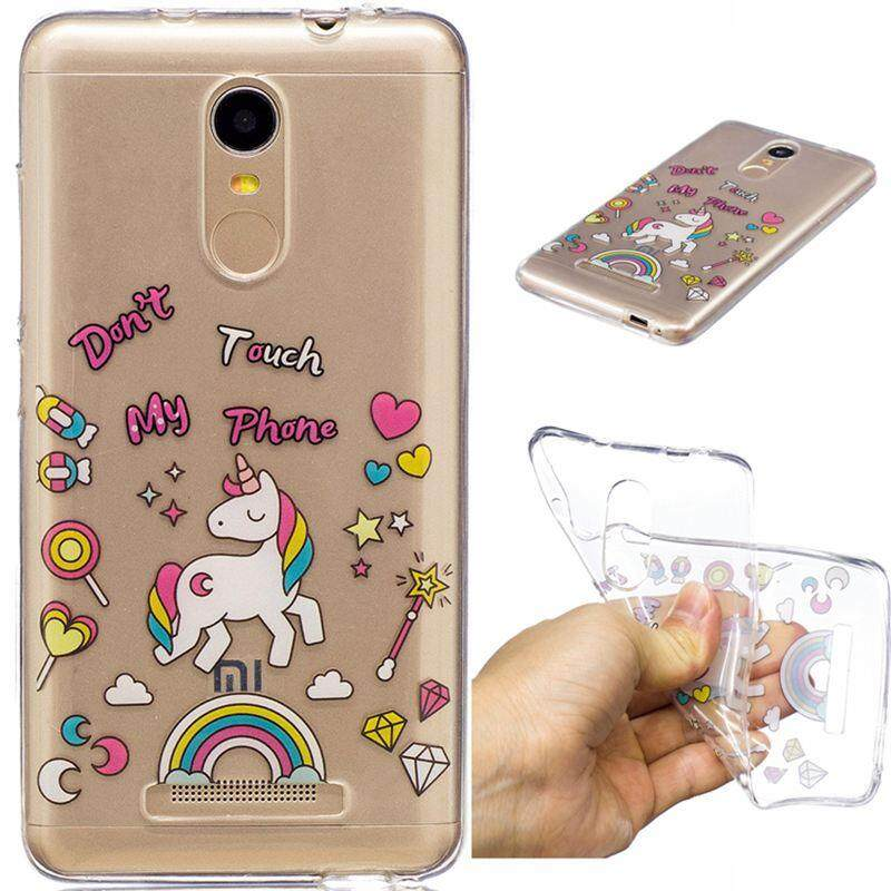 Case for Xiaomi Redmi Note 3 Clear Soft Cute Cartoon Pattern Design TPU Transparent Protective Cover