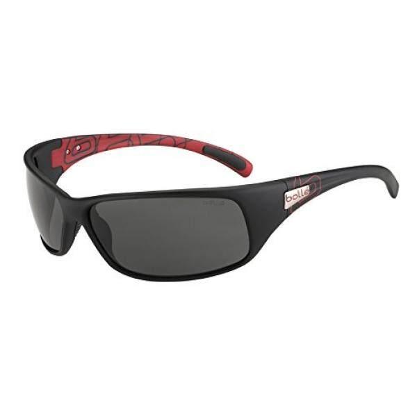 Bolle Kacamata Hitam Sport, Matte Merah/Hitam TNS-Intl