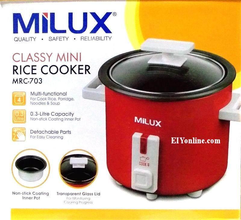 MILUX 0.3L CLASSY MINI RICE COOKER MRC703 _3205001
